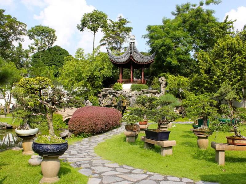 Китайский стиль в ландшафтном дизайне - фото 1
