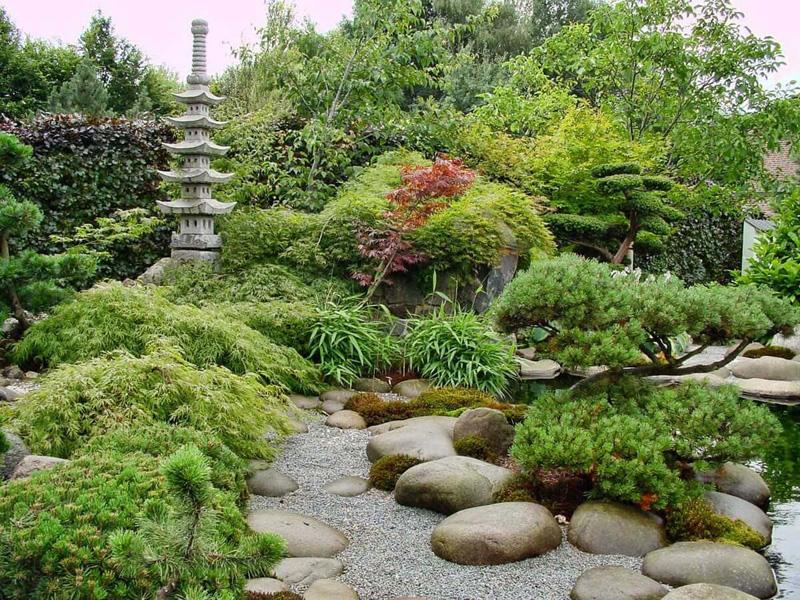 Ландшафтный дизайн в японском стиле - фото 2