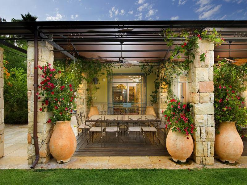 Средиземноморский стиль в ландшафтном дизайне - фото 1