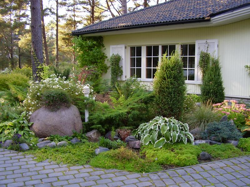 Скандинавский стиль в ландшафтном дизайне - фото 2